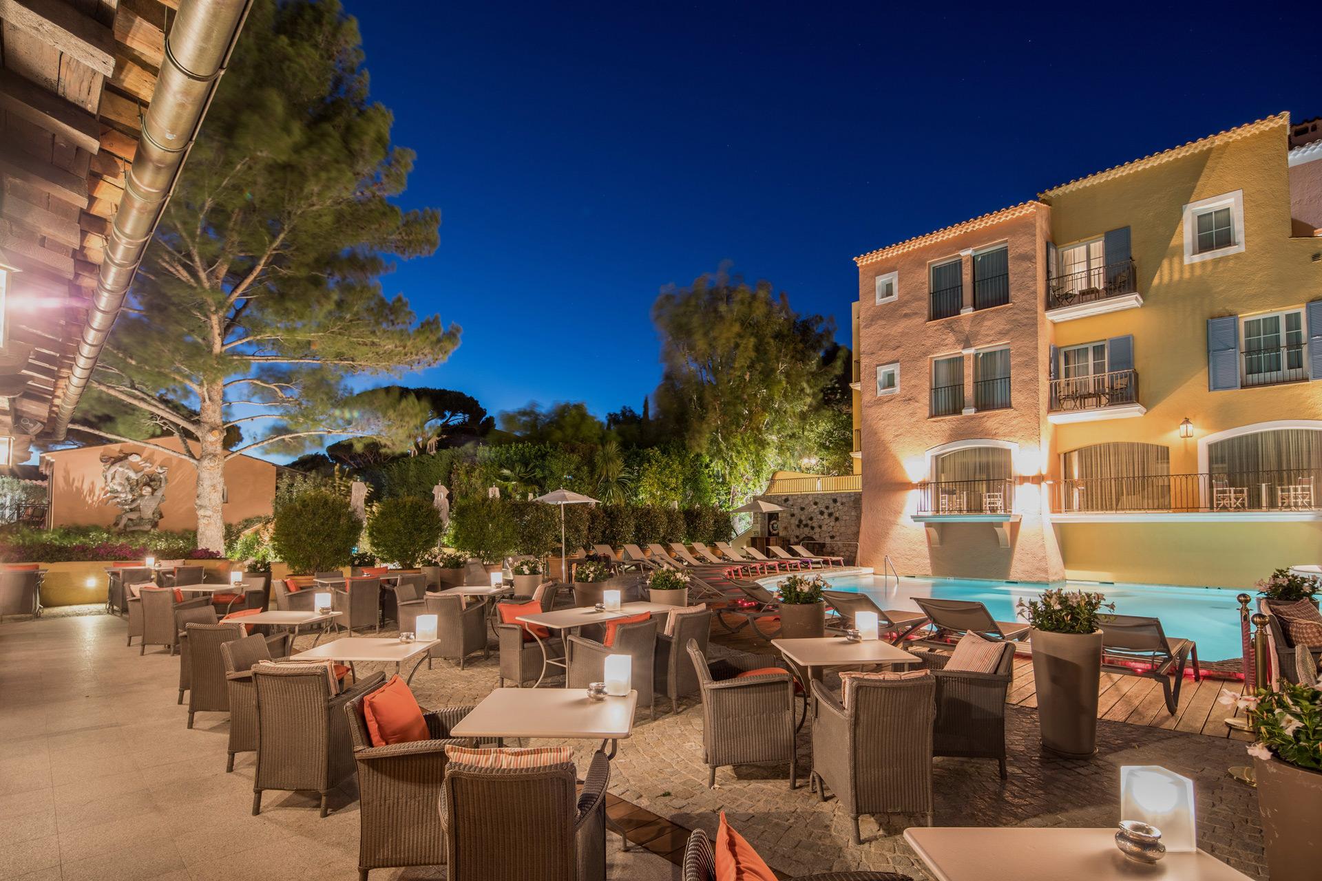 Byblos Restaurant Saint Tropez