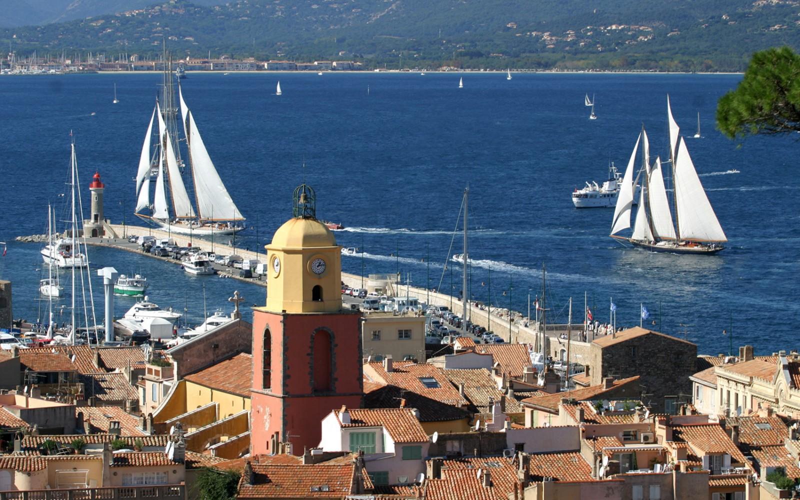 La baie de Saint Tropez